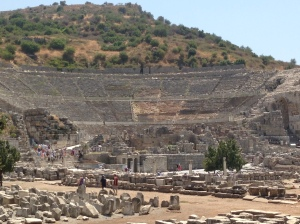 The Grand Theatre, Ephesus...can you imagine presenting here? St. Paul did, as did Sting!